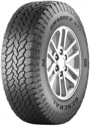 285/60/18 Дженерал Тайр GENERAL TIRE Grabber AT3 FR (285/60R18) 116H